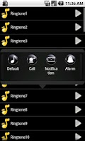 Screenshot of Car Sound Effects Ringtone