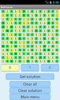 Screenshot of Binary Puzzle Solver Lite