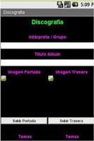 Screenshot of Libros, Discos y Videoteca
