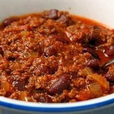 RealmanPwns 5 Star CrockPot Chili with Meat and Beans!