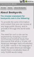 Screenshot of Literature eBooks