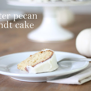 Butter Pecan Bundt Cake Recipes