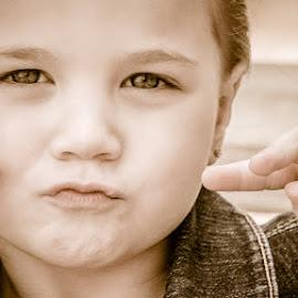 Duck Face! by Angie Stortz-Ellinger - Babies & Children Children Candids ( face, maci )