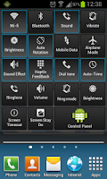 Screenshot of Android Control Panel