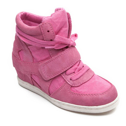 Ash Babe Wedge High Top TRAINER