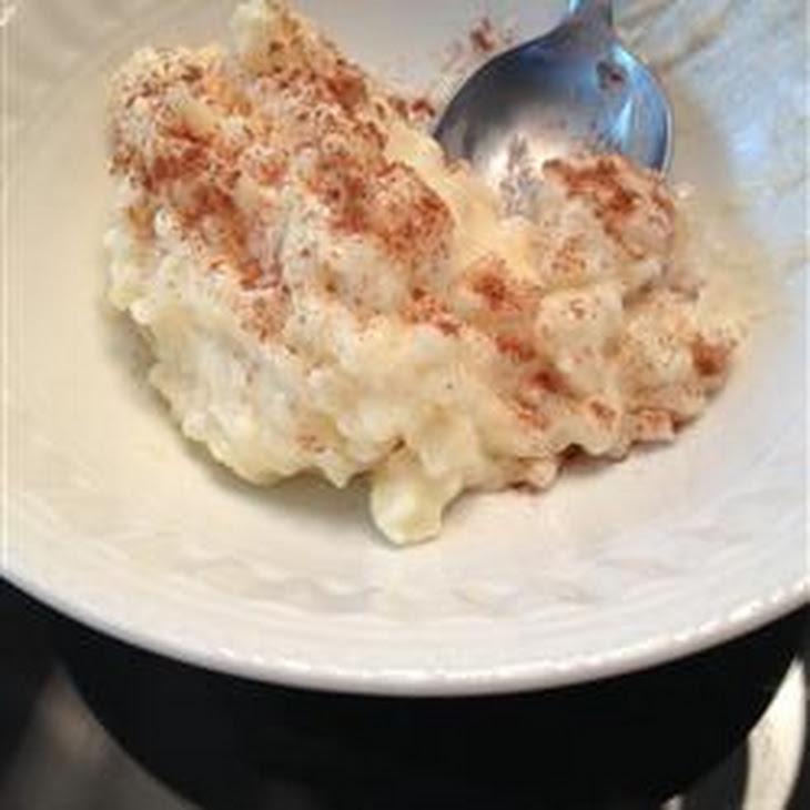 Creamiest Rice Pudding