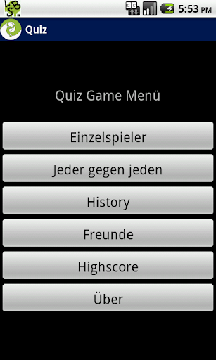Quiz beta German only