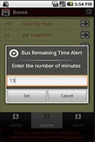Screenshot of SG Buses Delight 2 Widgets Bus