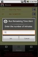 Screenshot of SG Buses Delight 2 Widgets Bus