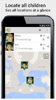 Screenshot of GPS Tracker Little Nanny Child