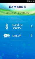 Screenshot of Samsung Aire Acondicionado