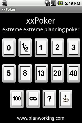 eXtreme eXtreme Planning Poker