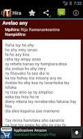 Screenshot of Tononkira Malagasy WithoutCode