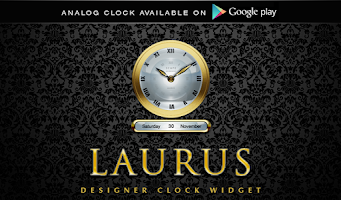 Screenshot of LAURUS Digital Clock Widget