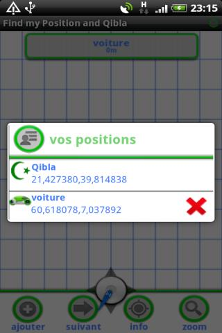 【免費旅遊App】Find my position and Qibla-APP點子
