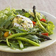 Roast Asparagus Salad with Chèvre