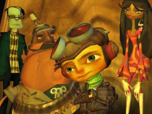 Double Fine partners with Nordic Games for retail releases of Psychonauts, Stacking and Costume Quest
