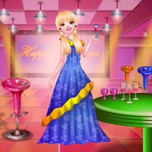 New Year Party Dressup - screenshot