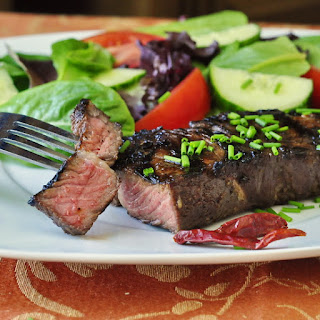 Garlic and Five Spice Grilled Steak