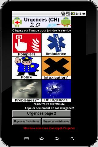 Urgences CH 2.0 Tab