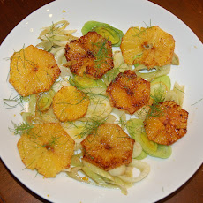 Caramelized Fennel, Leek and Orange Salad