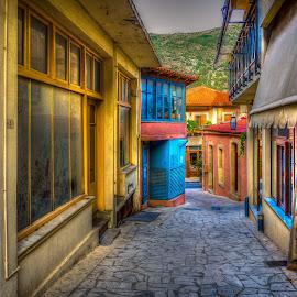 Crete by Murat Besbudak - Buildings & Architecture Other Exteriors ( herackio, grecee, aegean sea, crete )