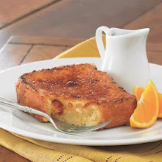 Brûléed Orange French Toast