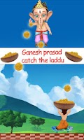 Screenshot of Catch the Laddu Game