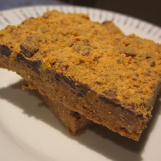 Chocolate Honeycomb Slice