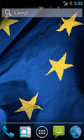Screenshot of Flag Of European Union LWP