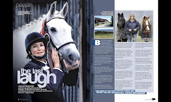 Screenshot of The Equestrian April 2012