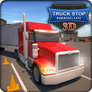Truck stop parking lot 3d android apps on google play for Truck design app