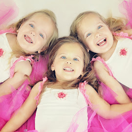 Happy x3 by Lucia STA - Babies & Children Child Portraits
