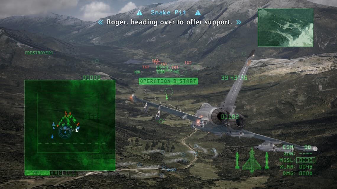 E3 Ace Combat Six demo hitting Live