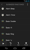 Screenshot of Business Ringtones