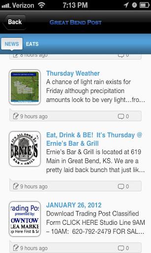 新聞必備APP下載|The Great Bend Post App - News 好玩app不花錢|綠色工廠好玩App