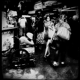 JUST A MARKET DAY  by George Arnon - City,  Street & Park  Street Scenes ( markets, street, street photography )