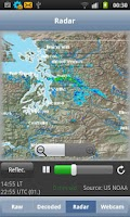 Screenshot of AeroWeather