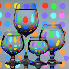 I love Polka dots.. by Rakesh Syal - Artistic Objects Glass (  )