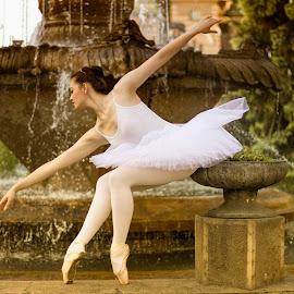 Graceful Ballerina by Ramona Ilie - People Fashion ( fashion, ballerina, ballet, dance, commercial photography )