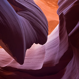 Sandstone Taffy by Tom DiMatteo - Landscapes Caves & Formations