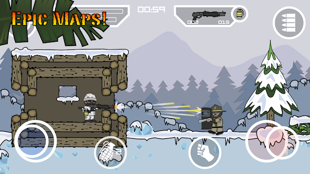 Doodle Army 2 : Mini Militia APK screenshot thumbnail 9