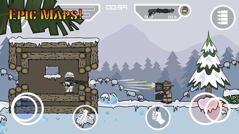 Doodle Army 2 : Mini Militia Screenshot 8