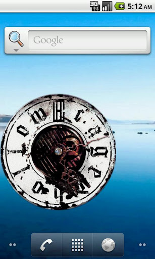 CagedHollow Clock
