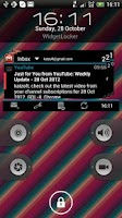 Screenshot of Widgets for Gmail