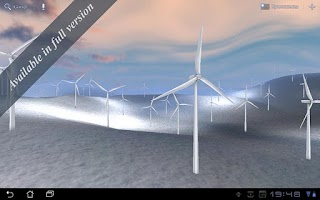 Screenshot of Wind Turbines 3D Free
