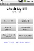 Screenshot of Check My Bill