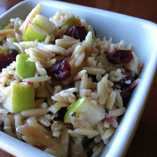 Orzo, Cranberry, and Apple Salad