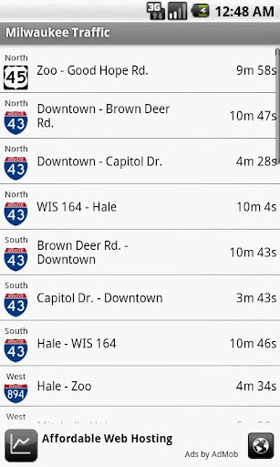 Milwaukee Traffic