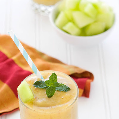 Honeydew Peach Smoothie